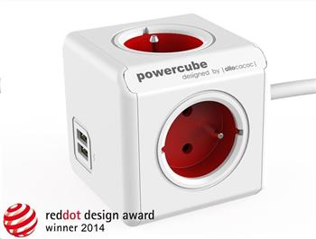 PowerCube Extended USB Red (1,5m)