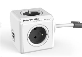 PowerCube Extended USB white/grey (3m)