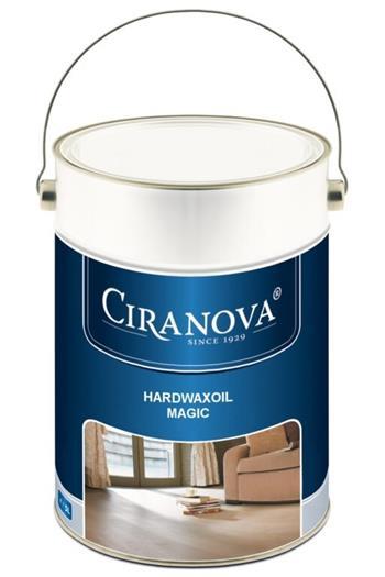 Ciranova Hardwaxoil MAGIC tvrdý voskový olej Bezbarvý Natural v 5L