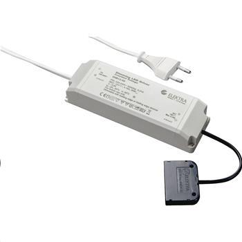 LED-síťový zdroj NG50, 12 V/DC 6násobný rozbočovač, výkon 50 W, stmívatelný