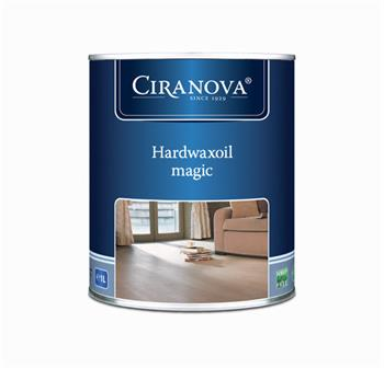 Ciranova Hardwaxoil MAGIC tvrdý voskový olej přírodně bílý v 1L