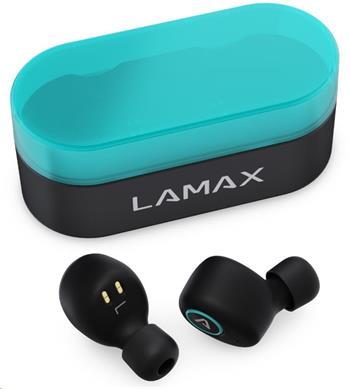 LAMAX Dots1 špuntová sluchátka - černé
