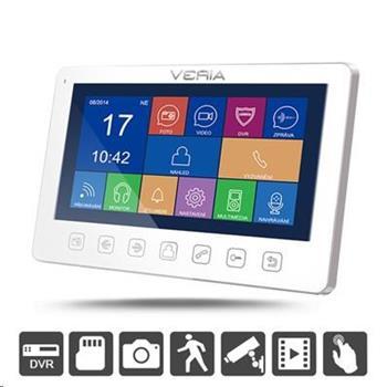 VERIA 7076B bílý LCD monitor videotelefonu