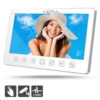 VERIA 7070B bílý LCD monitor videotelefonu