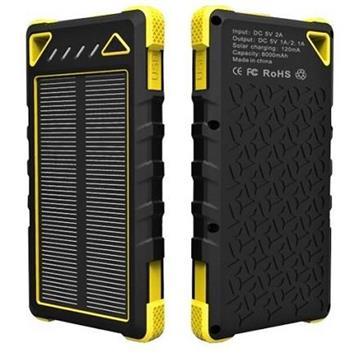 Viking solární outdoorová power banka SPT-80 8000 mAh, žlutá