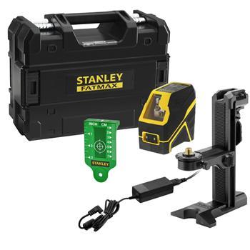 Stanley FatMax křížový laser, Li-Ion baterie, zelený paprsek