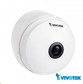 Vivotek FE9180-H, 3.6 Mpix, 15sn/s, obj. 1.16mm (360°), DI/DO, Mic.in, PoE, WDR Pro 87dB, MicroSDXC, 3DNR, vnitřní