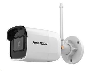 HIKVISION IP kamera 2Mpix, 25sn/s, obj.4mm (85°), IR 30m, DC 12V, Wi-Fi, audio in, microSD slot, H.264(+),H.265(+), IP66