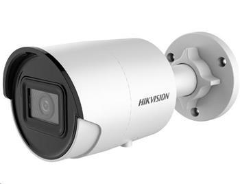 HIKVISION IP kamera 8Mpix, H.265+, až 25sn/s, obj. 2,8 mm (100°), IR 30m, IR-cut, WDR 120dB, mSD, IP67