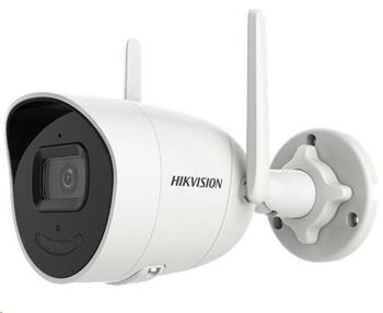 HIKVISION IP kamera 4Mpix, H.265, až 25sn/s, obj. 4mm (80°),DC12V, audio, DI/DO, IR 30m, Wi-Fi,WDR 120dB, mSD, IP66