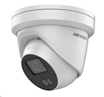 HIKVISION IP kamera 4Mpix, 1920x1080 až 25sn/s, obj. 4mm (95°), PoE, ColorVu, 3DNR, venkovní (IP67)