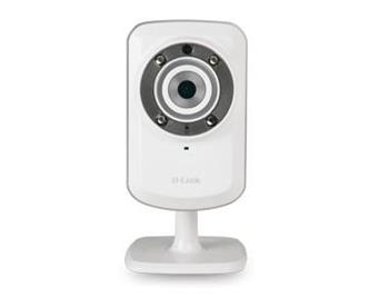 D-Link DCS-932L Securicam Wireless N Home IP Network Camera, myDlink, VGA, noční IR