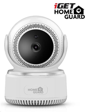 iGET HOMEGUARD HGWIP812 - bezdrátová otočná IP Full HD kamera, 2MPx, IR LED, microSD slot