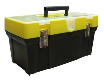"""Stanley 19"""" Box na nářadí s průhledným víkem a organizerem"""