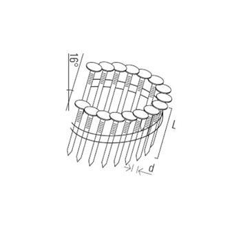 KMR hřebík hladký 3,0x19mm NK pro 3516 RN46 (7200ks)