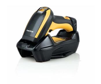 Datalogic PowerScan PBT9501, BT, 2D, HP, kit (USB), RB, black, yellow