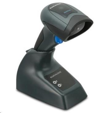 DataLogic bezdrátová čtečka QuickScan QBT2131, 1D snímač + základna, KIT USB