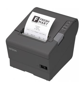 EPSON TM-T88V pokladní tiskárna, USB + Wifi, černá, se zdrojem