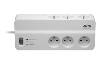 APC Essential SurgeArrest 6 outlets 230V France, 2m