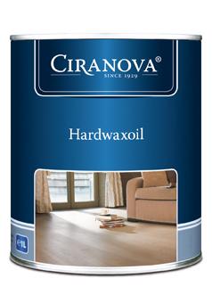 Ciranova HARDWAXOIL Parketový olej tvrdý, voskový v 1L extra bílý