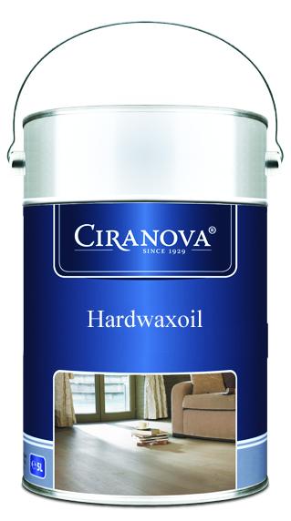 Ciranova HARDWAXOIL Parketový olej tvrdý, voskový v 5L extra bílý