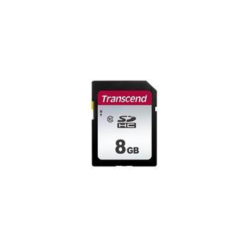 TRANSCEND SDHC karta 8GB 300S, Class 10 (R:95/W:45 MB/s)