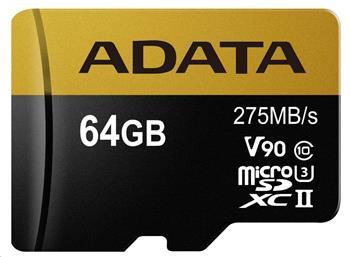 ADATA MicroSDXC karta 64GB UHS-I U3