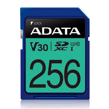ADATA SDXC karta 256GB Premier Pro UHS-I U3 Class 10 (R:95/W:60 MB/s)