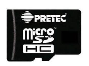 PRETEC SecureDigital Micro SDHC 32GB (Class 10) + SD adapter