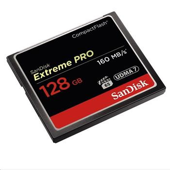 SanDisk Compact Flash 128GB Extreme Pro (160MB/s) VPG 65, UDMA 7