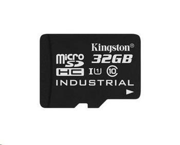 Kingston 32GB microSDHC UHS-I Industrial Temp Card Single Pack (bez adaptéru)