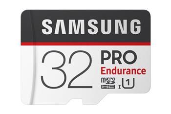 Samsung micro SDHC karta 32GB PRO Endurance + SD adaptér