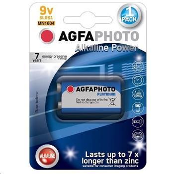 AgfaPhoto Power alkalická baterie 9V, blistr 1ks