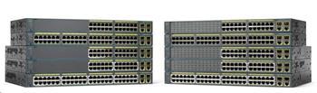 Cisco Catalyst 2960+48TC-L, 48x10/100, 2xGbE SFP/RJ-45
