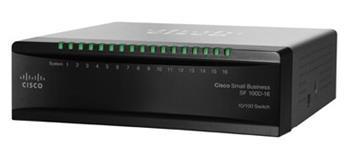 Cisco switch SF110D-16, 16x10/100