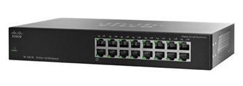 Cisco switch SF110-16, 16x10/100