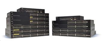 Cisco switch SG350-8PD 6x10/100/1000, 2x2.5GbE, 2xGbE SFP/RJ-45, PoE