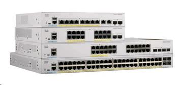 Cisco Catalyst C1000-8FP-E-2G-L, 8x10/100/1000, 2xSFP/RJ-45, PoE
