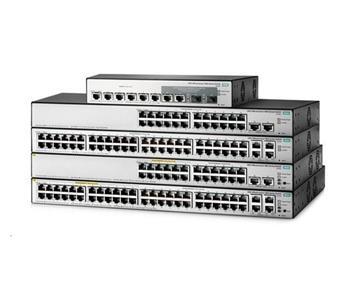 HPE OfficeConnect 1850 48G (24xPOE+24G) 4XGT PoE+ 370W Switch JL173AR RENEW
