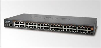 Planet HPOE-2400G v2, PoE injektor IEEE 802.3at, 24xGE, PoE až 720W