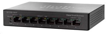 Cisco switch SF110D-08HP, 8x10/100, PoE