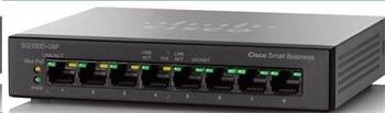 Cisco switch SG110D-08HP, 8x10/100/1000, PoE