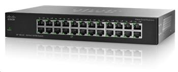 Cisco switch SF110-24, 24x10/100