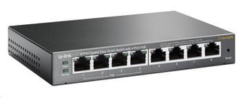 TP-Link TL-SG108PE [8-portový gigabitový Easy Smart switch se 4 PoE porty]