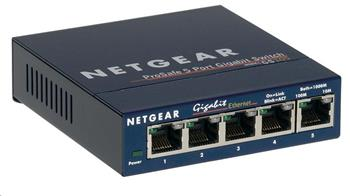 Netgear GS105 ProSafe 5-port Unmanaged Gigabit Desktop Switch