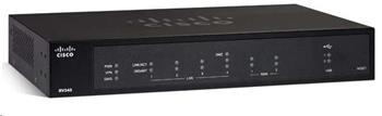 Cisco VPN Router RV340, 4xGbE LAN, 2xGbE WAN, 2xUSB