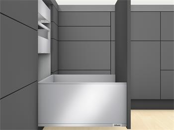Blum Legrabox Blumotion sada PURE výška F délka 500mm 40kg šedá