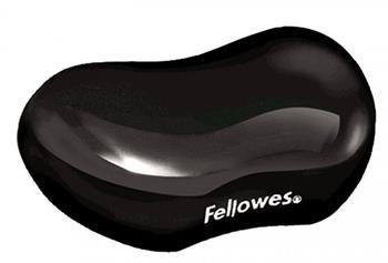 Podložka pod zápěstí Fellowes CRYSTAL gelová černá