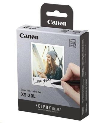 Canon XS-20L samolepicí papír 72x85 mm do termosublimační tiskárny