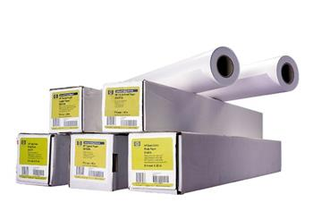 HP Universal Satin Photo Paper-1067 mm x 30.5 m (42 in x 100 ft), 6.6 mil, 200 g/m2, Q1422B